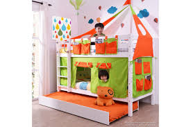 Low Bunk Bed With Trundle - Low bunk beds