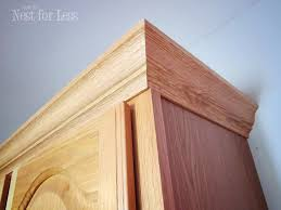 installing crown molding on cabinets modest modest how to install crown molding on kitchen cabinets mini