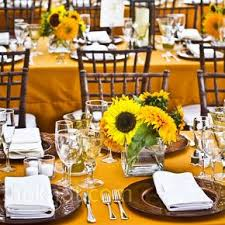 sunflower centerpieces sunflower wedding centerpieces