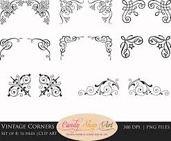 wedding ornaments clipart 74