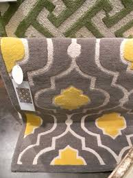 Gray And Yellow Bathroom Rugs with Yellow Gray Rug Target Rugs Ideas