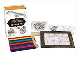 amazon harry potter coloring kit miniature editions
