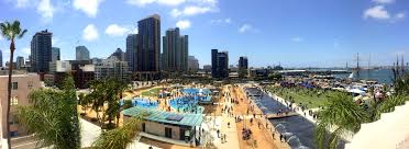 San Diego Convention Center Map by Harbor Happenings New 12 Acre Waterfront Park Now Open San