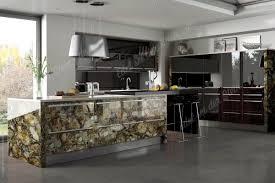 luxus küche versteinertes holz zazen luxus kueche kuecheninsel freistehende