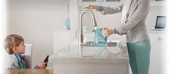 touch free kitchen faucet touchless kitchen faucets and free faucets in miami