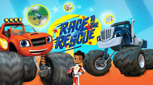blaze race rescue nick jr uk