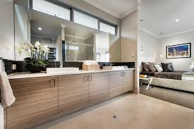 En Suite Bathrooms by The Rockwell Ben Trager Homes Perth Display Home Master