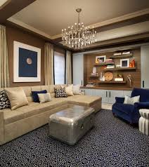 Handmade Moroccan Rugs Contemporary Living Room With Concrete Floors By John Willey