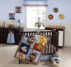 Blue And Brown Crib Bedding by Amazon Com Kids Line 9 Piece Crib Bedding Set Pirate Party