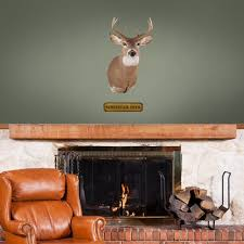 mounted whitetail deer head fathead jr for in my home