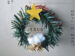 the last week of advent via tree ornaments equipping
