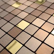 Aluminum Tile Backsplash by 20x20mm Self Adhesive Aluminum Composite Mosaic Tiles Bathroom Tiles