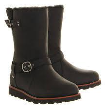s ugg australia noira boots usa fur biker boots for ebay