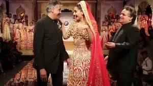 Bridal Wear Sonam Kapoor Bridal Wear Abu Jani U0026 Sandeep Khosla Bmw India