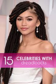 Different Hairstyles For Dreads 15 Celebrities Who U0027ve Wonderfully Rocked Dreadlocks