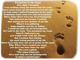 footprints in the sand gifts footprints in the sand warriors make a difference