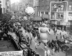 past and present balloons of macy s thanksgiving day parade