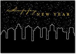 new years card card invitation sles new year s cards business new