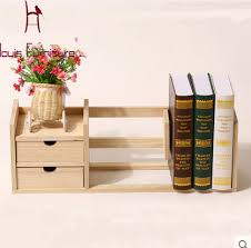 bureau pratique moderne bois massif simples étagères pratique enfants bibliothèque