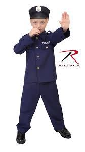 rothco kid u0027s police costume