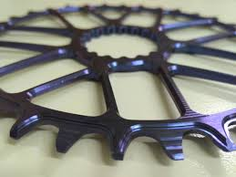 titanium chain rings images Bling up your bike with ka engineering 39 s titanium chainrings and jpg