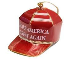 just in time for make america great again ornaments