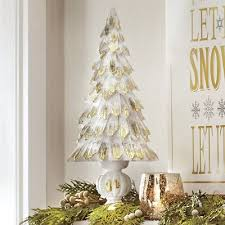 gold tipped tree from country door 744205