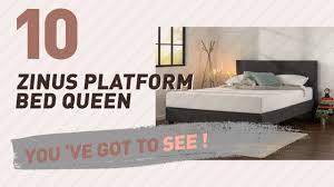 Platform Beds Queen - zinus platform bed queen new u0026 popular 2017 youtube
