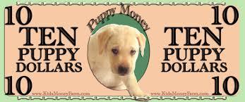kids play money templates puppy money kidsmoneyfarm com