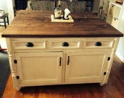handmade kitchen islands kitchen island etsy