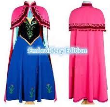 Princess Anna Halloween Costume Anna Costume Frozen Princess Anna Dress Cosplay