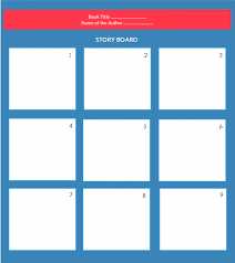 Blank Concept Map Template by Storyboard Templates With Unique Designs For Kids And General Usage