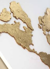 Diy World Map by Diy World Map Wall Art A Step By Step Tutorial Smitha Katti