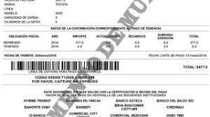 formato de pago de tenencia en chispas 2015 última semana para pagar la tenencia 2016 guía rapida para pagarla