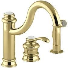 polished brass kitchen faucet brass kitchen faucets whitehaus whitehaus widespread gooseneck