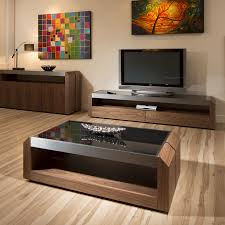 modern designer coffee tables large walnut glass rectangular coffee table modern designer 01a