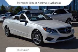 mercedes e class convertible for sale certified 2014 mercedes e class e350 in bentonville ar