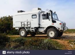 mercedes unimog truck kamenjak park premantura istria croatia a mercedes