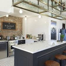 Kitchen Design Tiles Walls by The 25 Best Brick Wall Kitchen Ideas On Pinterest Exposed Brick