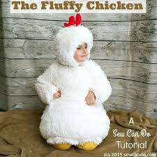 Sew Can Do Make A Cuddly Cute Pumpkin Costume Without A Pattern by Sew Can Do Tutorial Time The Fluffy Chicken Costume