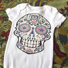 best sugar skull baby clothes products on wanelo