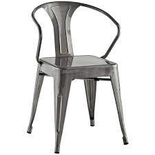 Distressed Bistro Chair Panora Dining Chair Gunmetal Haus Pinterest Eclectic Decor