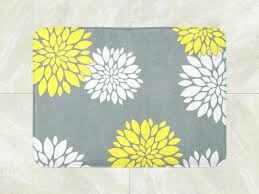Bathroom Runner Rug Yellow Bath Rugs Maslinovoulje Me