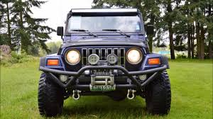 1997 jeep wrangler sport tj 4 0l i6 5 spd manual youtube