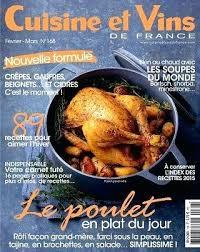 abonnement cuisine et vins de abonnement magazine cuisine cuisine actuelle abonnement abonnement