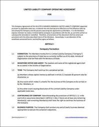 llc operating agreement 13 llc purchase agreement template