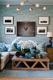 Blue Livingroom Rustic Nautical Beach Living Room Rikki Snyder Photography