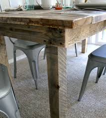 reclaimed barn wood table reclaimed barnwood kitchen table home furniture everettco