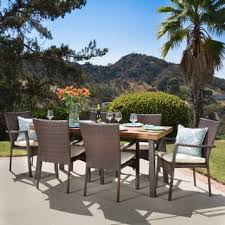 King Soopers Patio Furniture by Size 7 Piece Sets Outdoor Dining Sets Shop The Best Patio