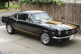 Mustang Fastback Black Ford Mustang History 1965 Shnack Com